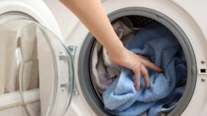 washing machine load